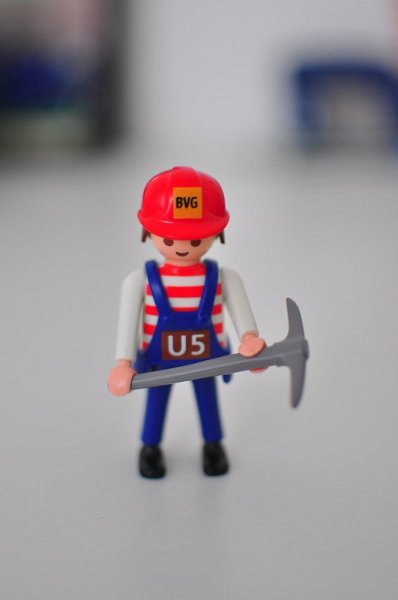 BVG Harry Schotter Playmobil Figur
