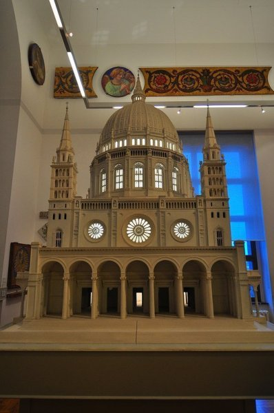 Scale model of the Berliner Dom