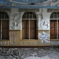 small ballroom of the abandoned ballhaus riviera