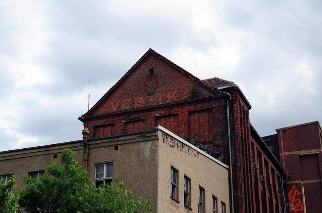 VEB Kabelwerk Koepenick Left Factory Building