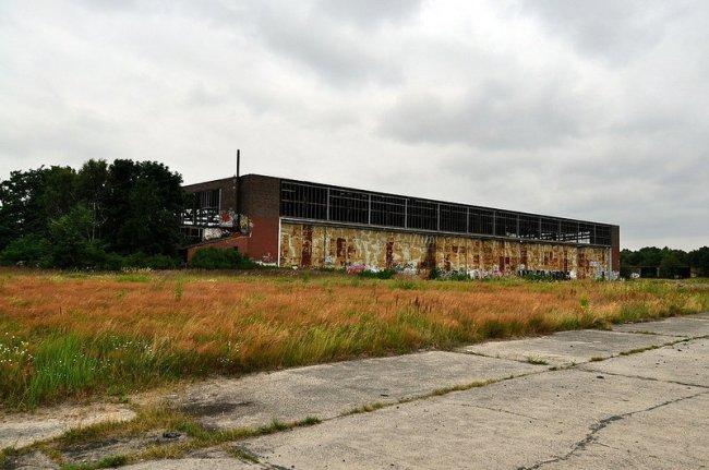 heinkel werk einflughalle oranienburg
