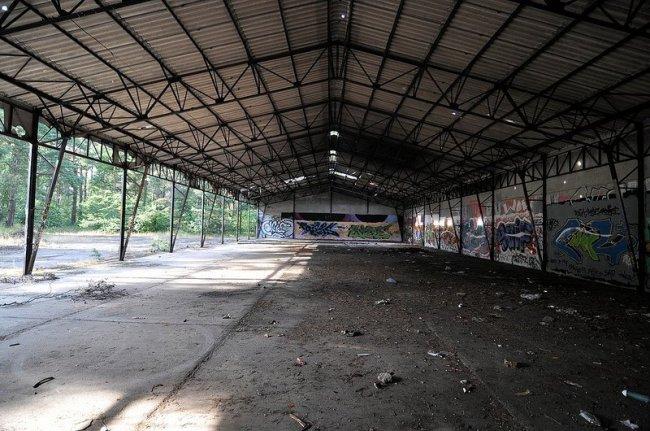 munitionsdepot lagerhalle