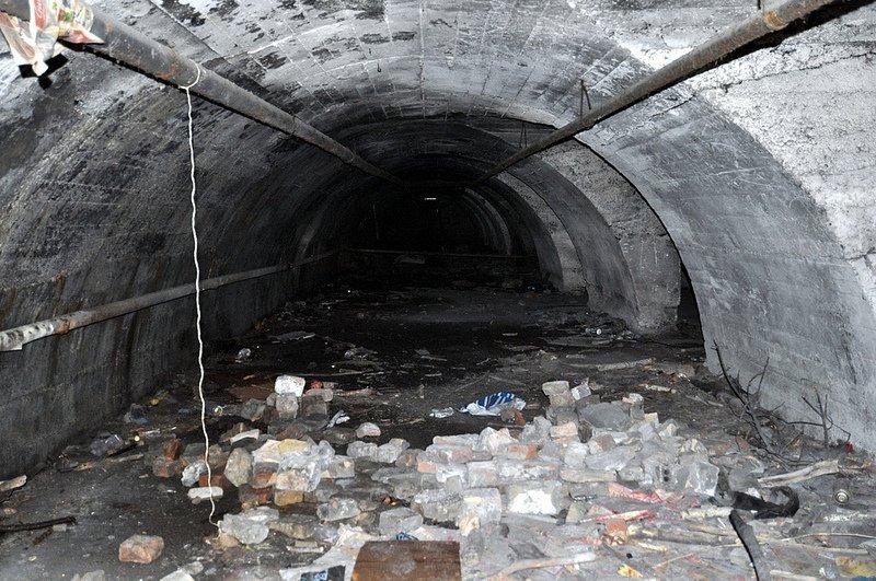 bunker innen ansicht auslaenderlager schoenholz