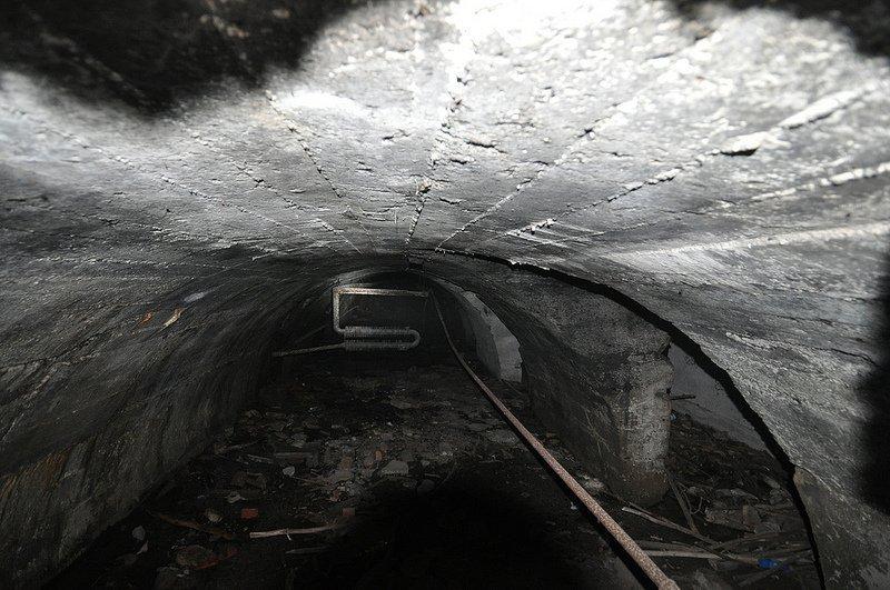 innen ansicht bunker auslaenderlager schoenholz