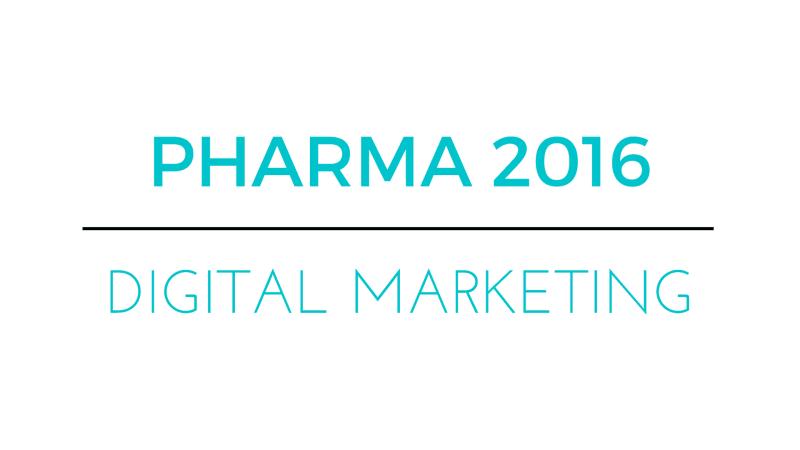 Pharma Digital Marketing 2016