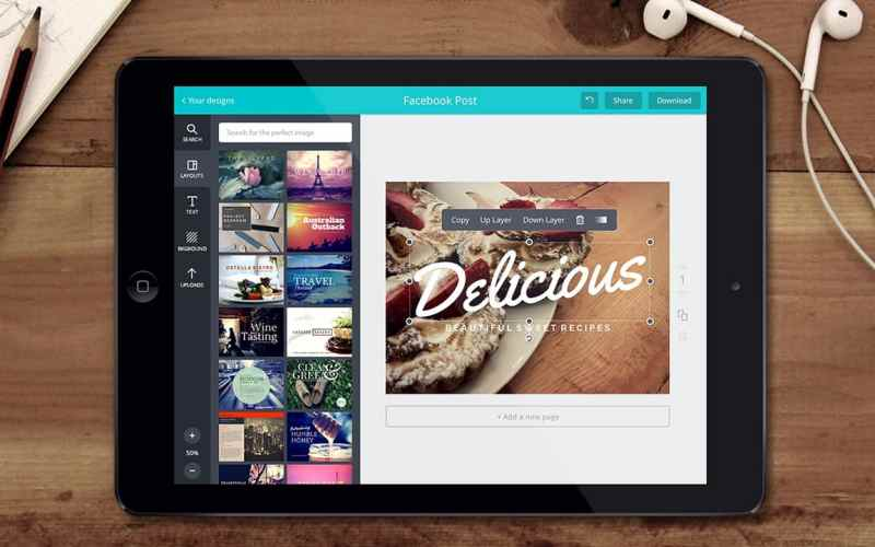 Canva's ease of use is what draws millions towards it.
