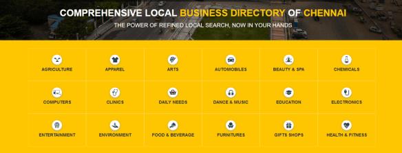 Local business directory Chennai