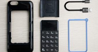 Talkase, um case para smartphone com celular extra