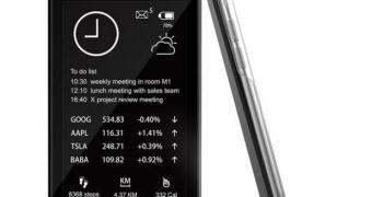 Oaxis Inkcase, um case para iPhone com tela e-ink