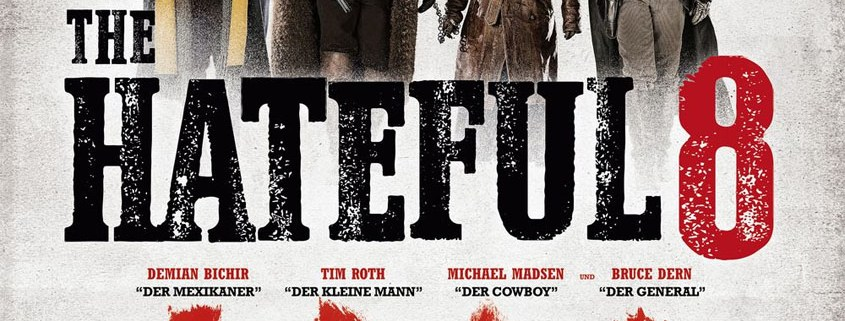 The Hateful 8 - Plakat