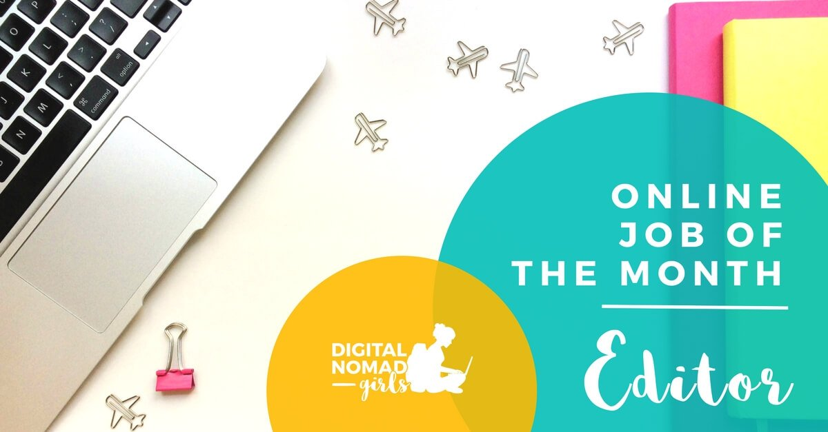 DNG Presents Online Job of the Month Online Editor