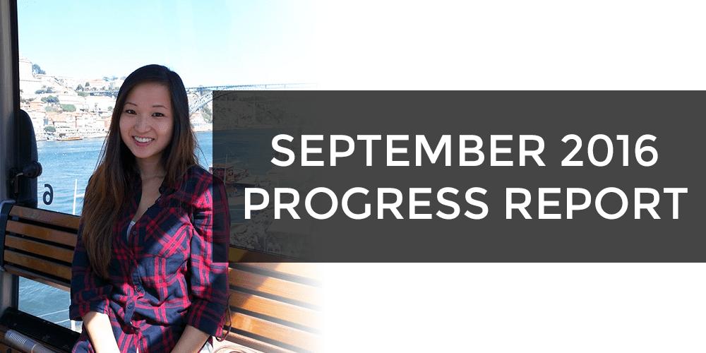 September 2016 Progress Report