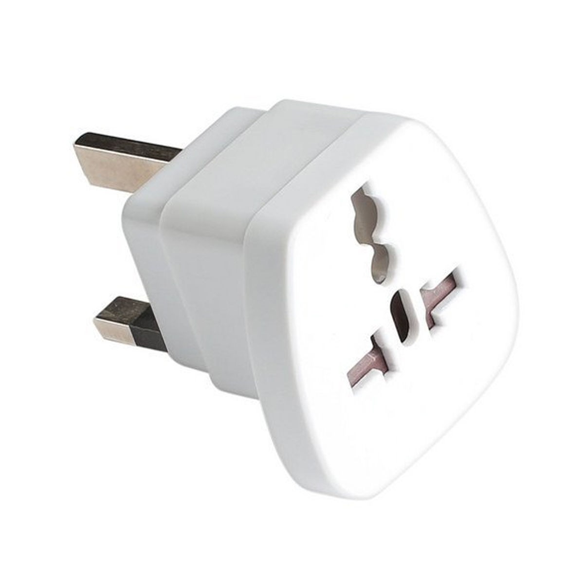 Travel Adapter Eu To Uk Hahnel Eu Us Aus To Uk Power Travel Adapter Converter Plug 13a Fused White
