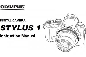 Olympus E-M10 Mark II Instruction or User's Manual