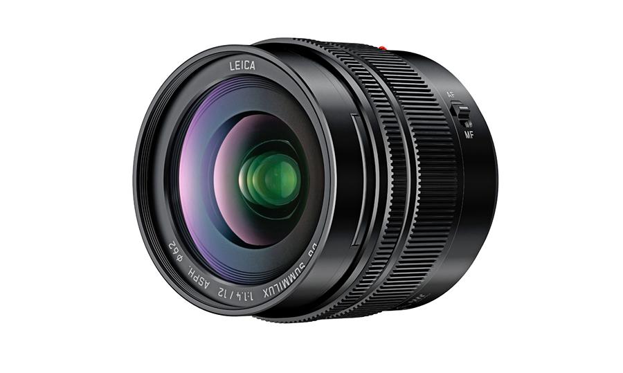 LUMIX G LEICA DG SUMMILUX 12mm/F1.4 ASPH (H-X012)