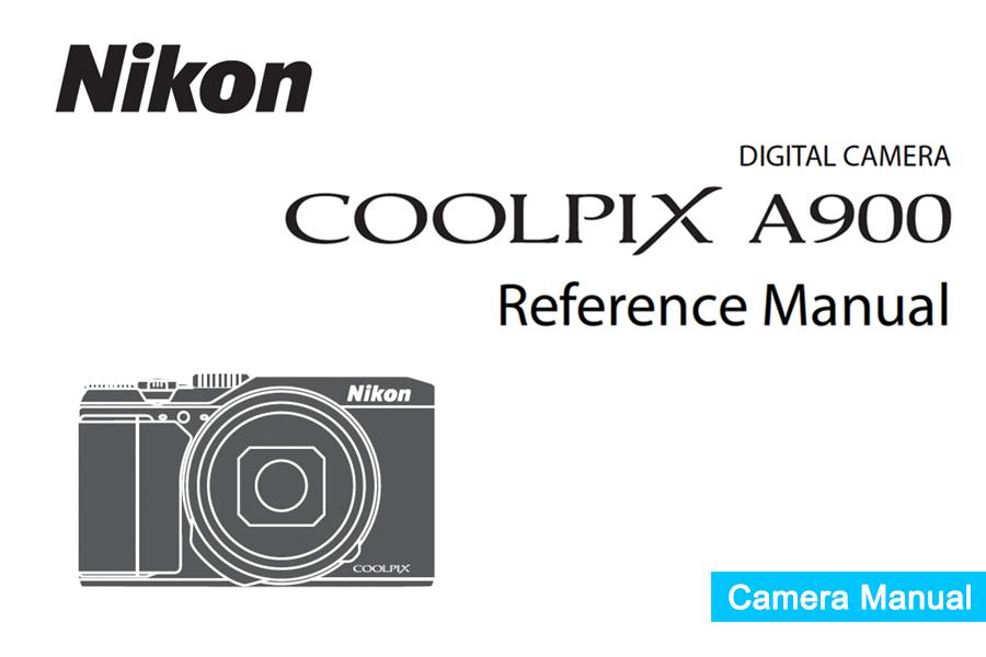 Nikon COOLPIX A900 Manual pdf