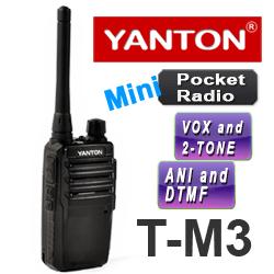 Yanton T-M3 walkie talkie UHF / VHF