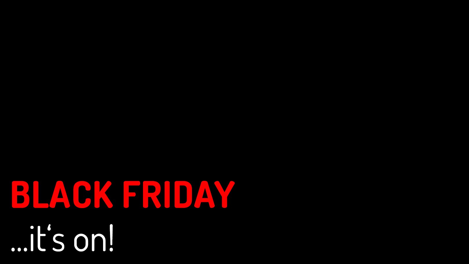 Black Friday Angebot Black Friday Black Friday Everywhere Digital Production