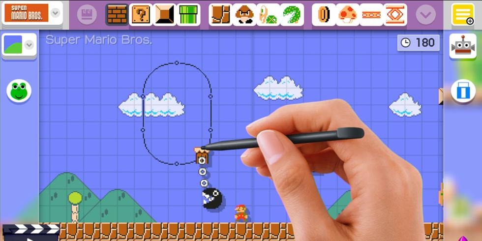 Someone has built a working calculator in Super Mario Maker