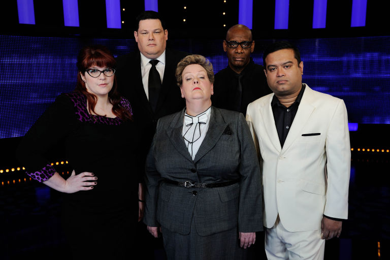 Jenny ˜The Vixen' Ryan join Anne ˜The Governess' Hegerty, Shaun ˜The Dark Destroyer' Wallace, Mark ˜The Beast' Labbett and Paul ˜The Sinnerman' Sinha