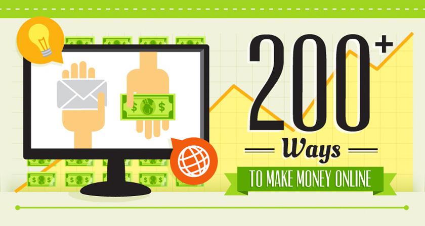 200 Legit Ways To Make Money Online