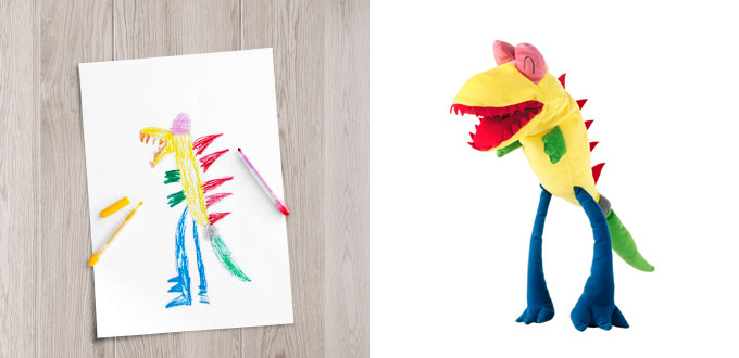 Ikea Childrens Toys Ikea Turned Children's Drawings Into Real Soft Toys To