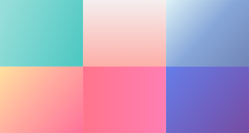 30 Beautiful Color Gradients For Your Next Design Project