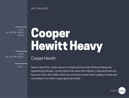 30 Great Font Combinations For Your Next Design Project