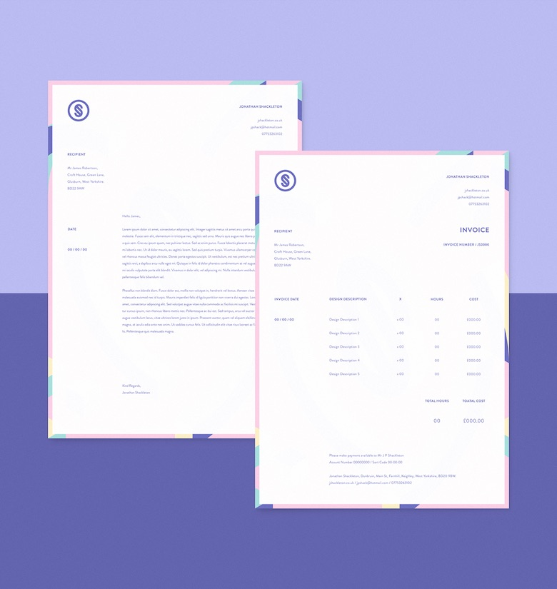 35 Creative Invoices Designed To Leave A Good Impression On Clients - invoice designs