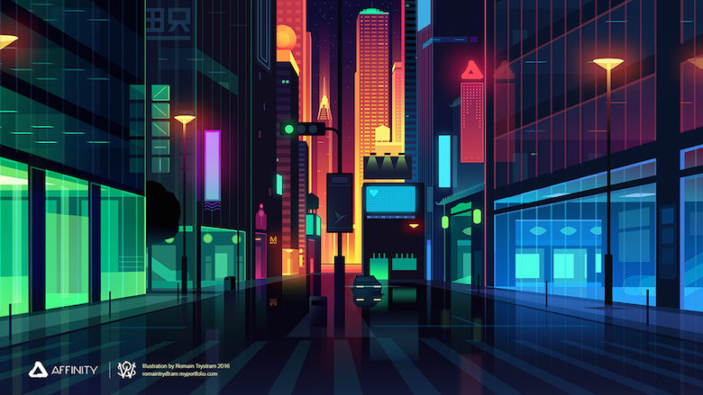 Hd Future Cars Wallpapers Beautiful Vibrant Illustrations Of City Skylines Made