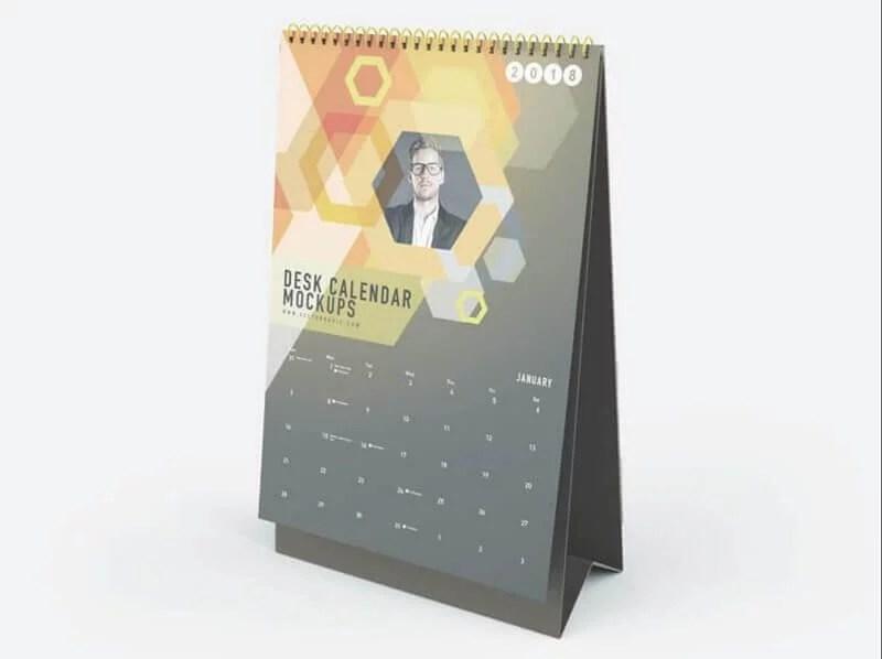 13 Best Free Calendar Mockups 2019 - DigitalTemplateMarket