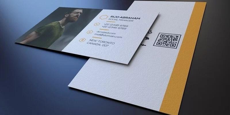13 Best Free Business Card PSD Templates - Digital Template Market