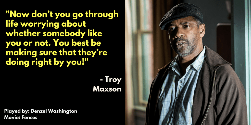 Denzel Washington Quote Wallpaper Fences Quotes Fascinating Denzel Washington Quote Movie