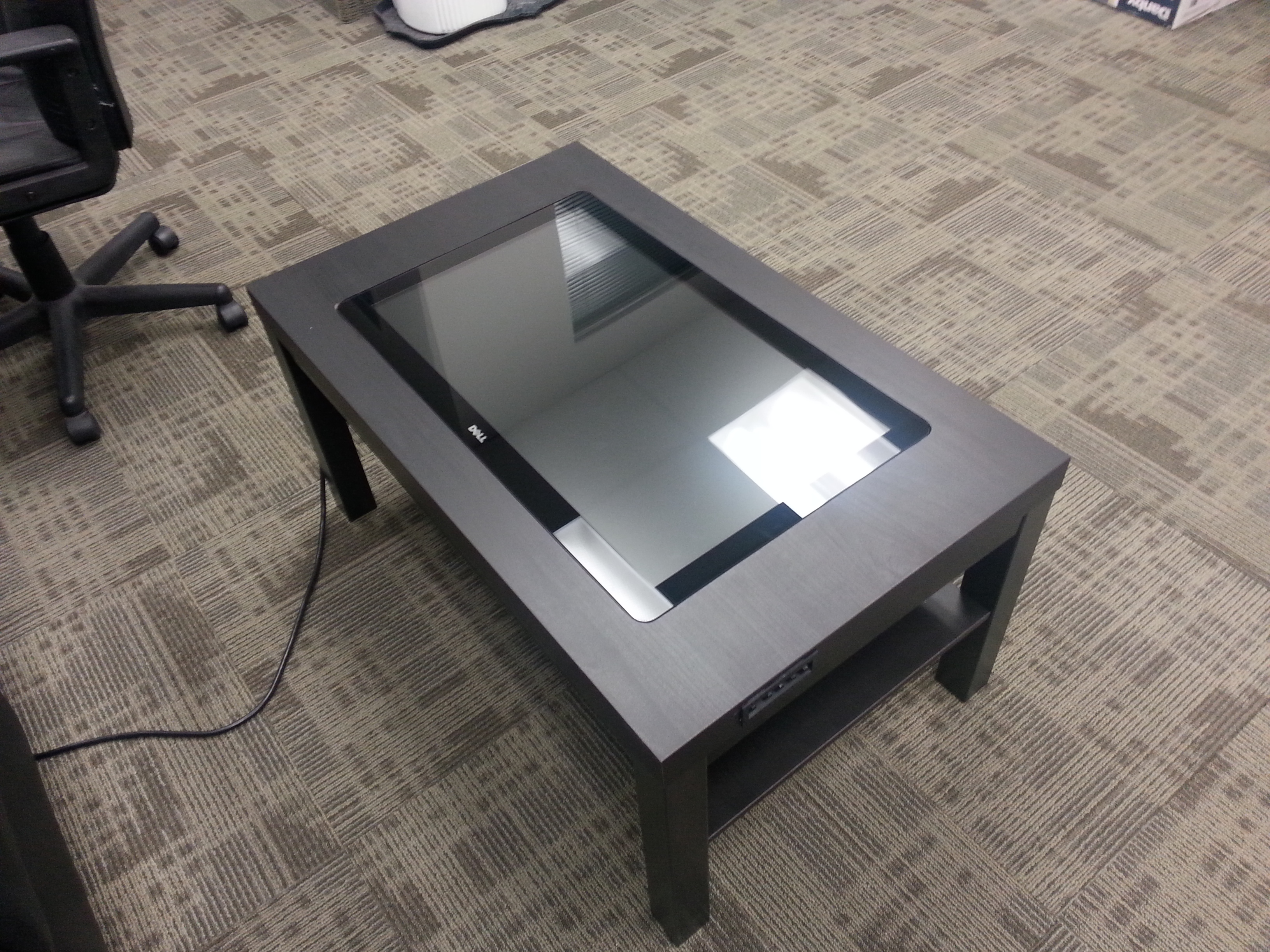 We ve Gone and Built a Touchscreen Coffee Table