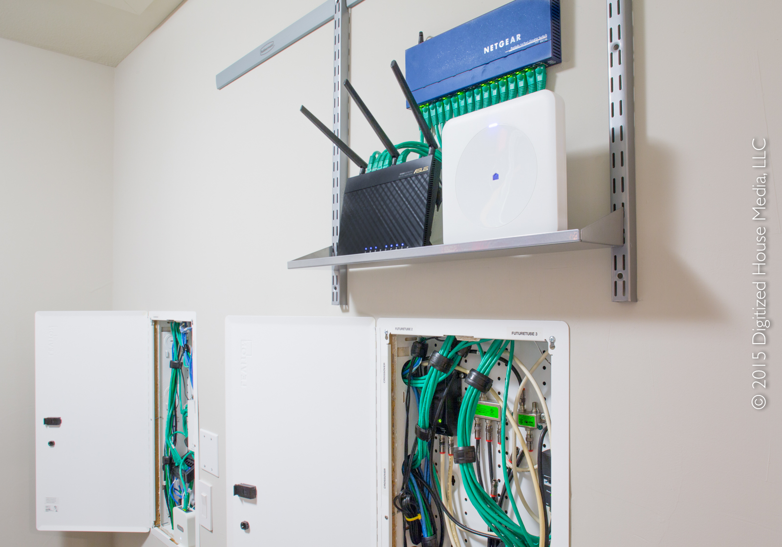 home structured wiring panel