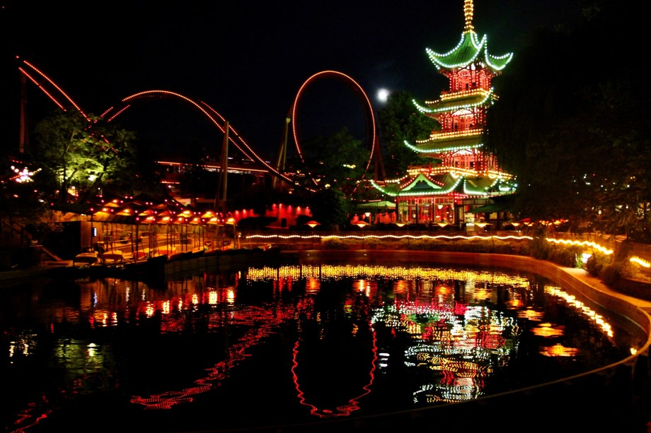Tivoli Christmas Rides Best Amusement Parks In Europe – Digitourist