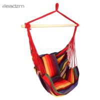 Leadzm Hanging Rope Chair Swing Hanging Hammock Chair ...