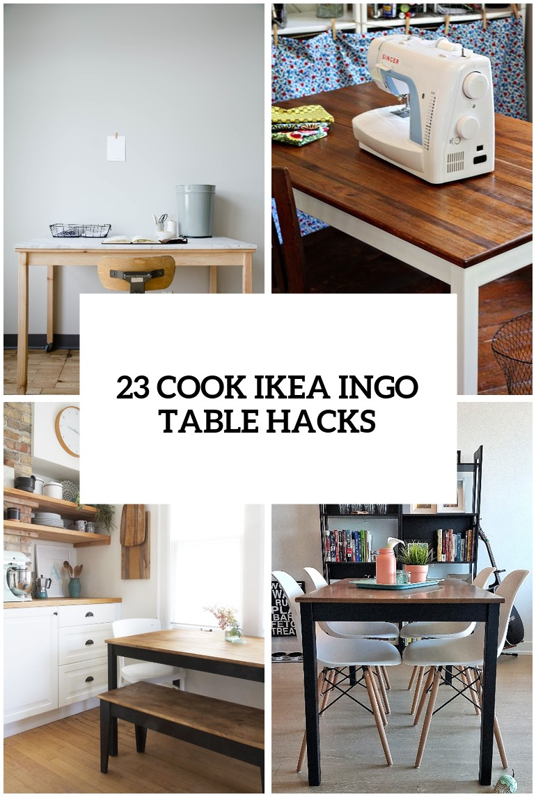 Ikea Table 23 Cool Ikea Ingo Table Ideas And Hacks You Ll Love Digsdigs