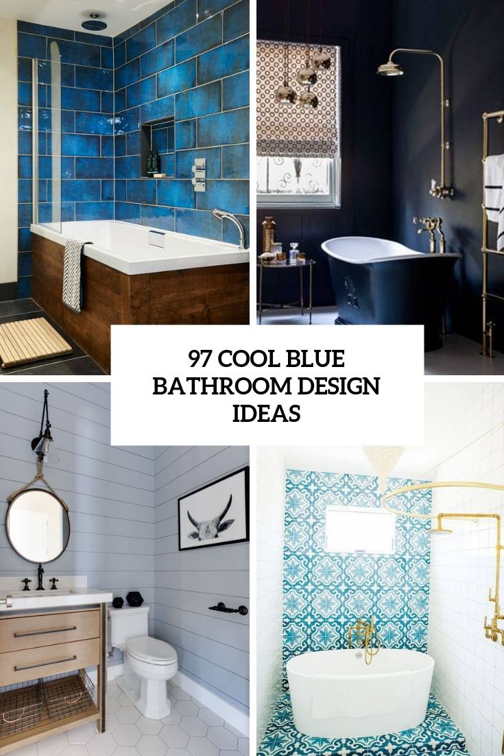 Blue Bedroom Ideas For Adults 97 Cool Blue Bathroom Design Ideas Digsdigs