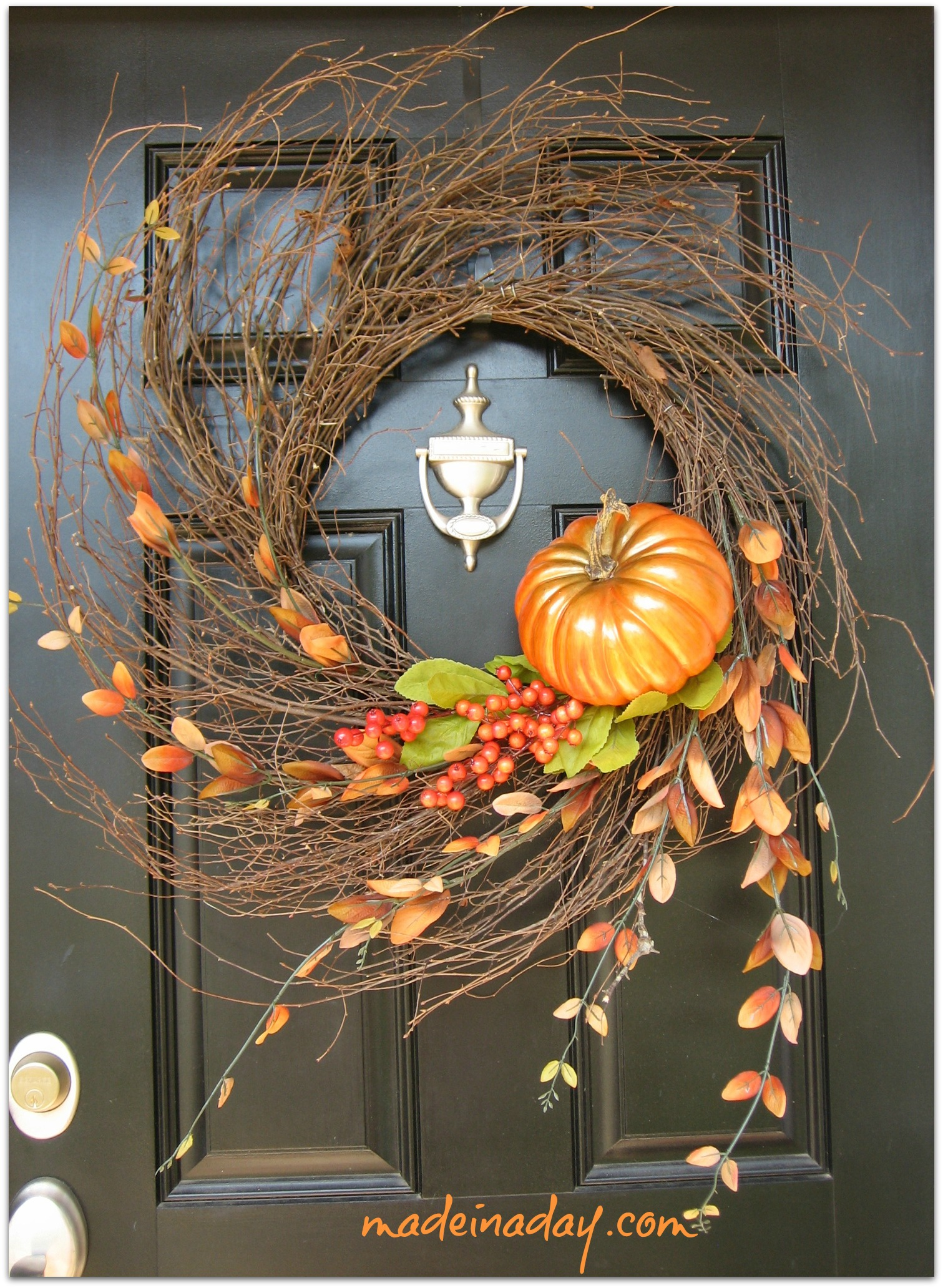 Fall Decor To Make 67 Cute And Inviting Fall Front Door Décor Ideas Digsdigs