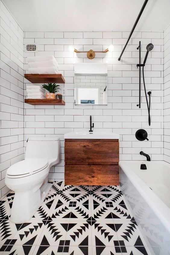 54 Cool And Stylish Small Bathroom Design Ideas Digsdigs