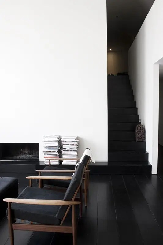 Living Room Wall Ideas 3 Dark Floors Types And 26 Ideas To Pull Them Off - Digsdigs