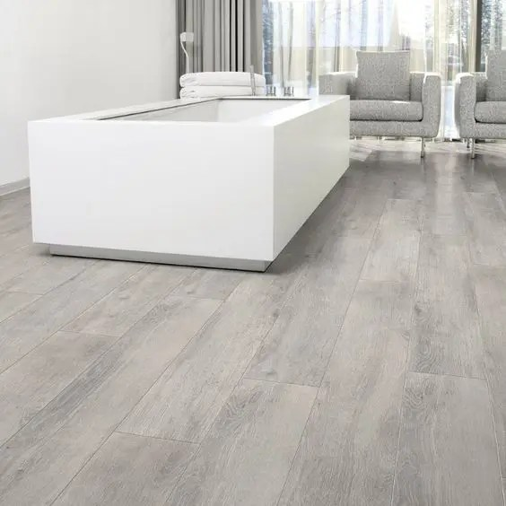 White Wash Praxis 32 Grey Floor Design Ideas That Fit Any Room - Digsdigs