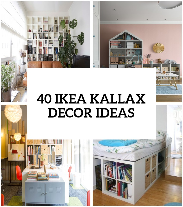 Ikea Kallax Ideas 40 Ikea Kallax Shelf Décor Ideas And Hacks You'll Like