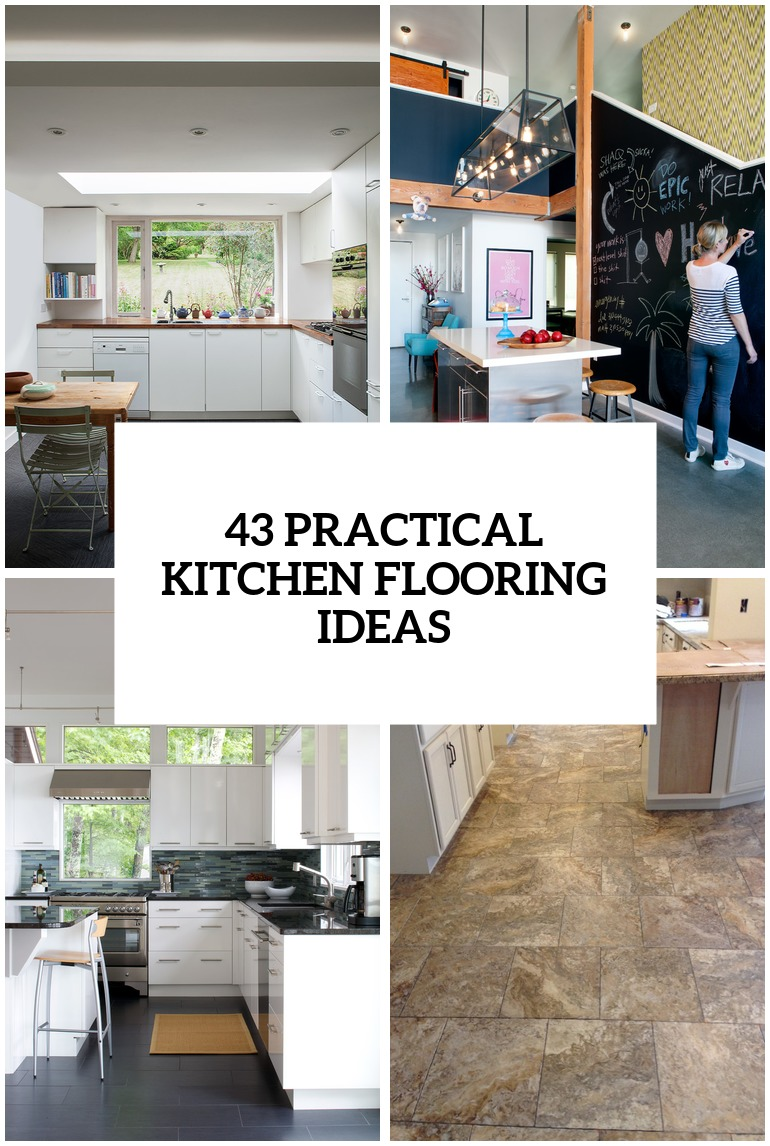 Kitchen Flooring Ideas Photos 30 Practical And Cool Looking Kitchen Flooring Ideas Digsdigs