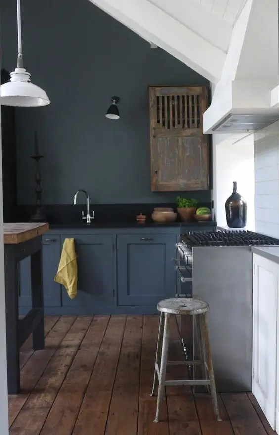 Industiele Keuken 27 Moody Dark Kitchen Décor Ideas - Digsdigs