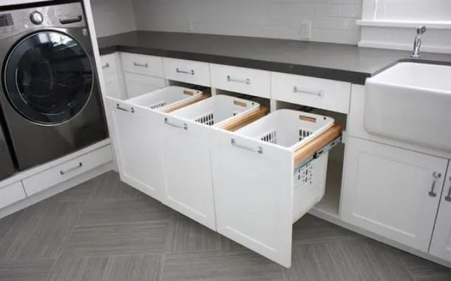 Ikea Tilt Out Hamper 47 Smart Ways To Hide Mess And Household Eyesores - Digsdigs