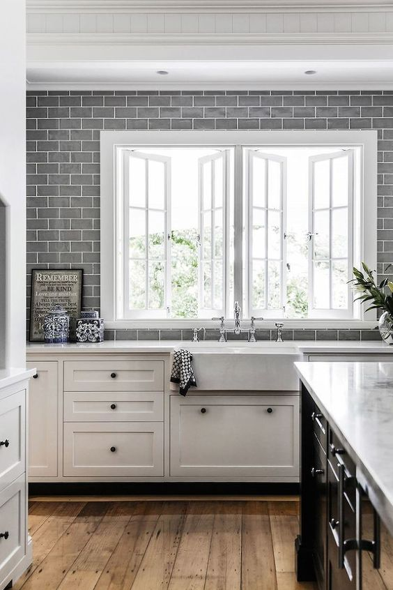 Ikea Küche Bodbyn 35 Ways To Use Subway Tiles In The Kitchen - Digsdigs