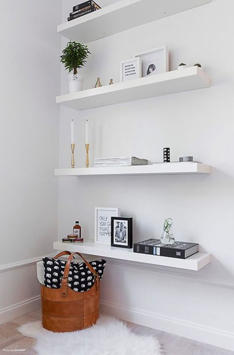 Design Wandplank Keuken 37 Ikea Lack Shelves Ideas And Hacks - Digsdigs