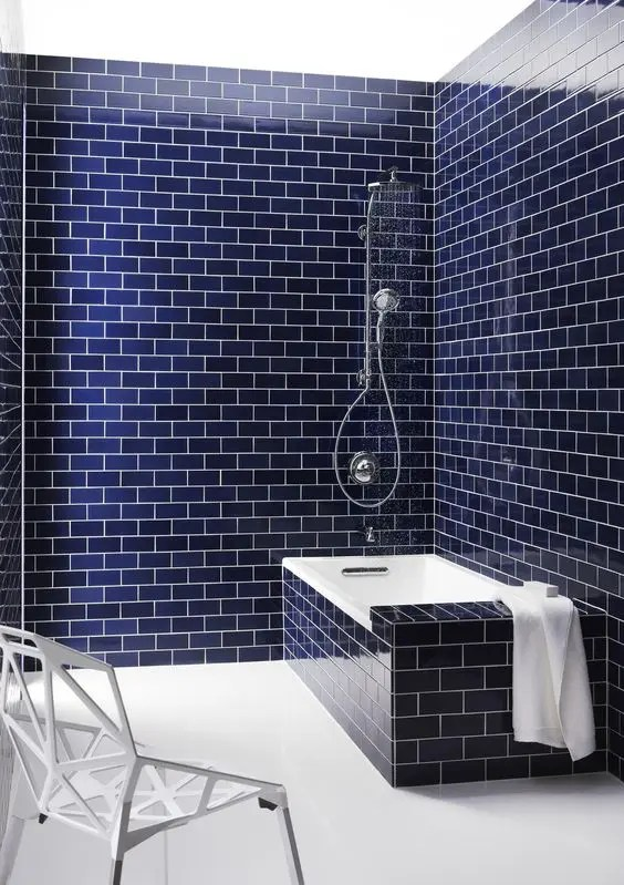 Subway Tile With Dark Grout 33 Chic Subway Tiles Ideas For Bathrooms - Digsdigs